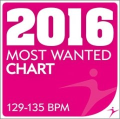 2016 MOST WANTED — Chart — 129-135 bpm