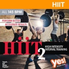 HIIT: High Intensity Interval Training 2 — 145 bpm