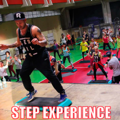 STEP EXPERIENCE  Summer 2017 — 129-134 bpm