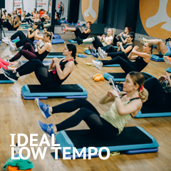 IDEAL LOW TEMPO — 120-125 bpm
