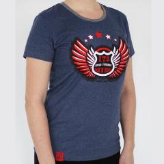 футболка STAR FITNESS синяя размер M
