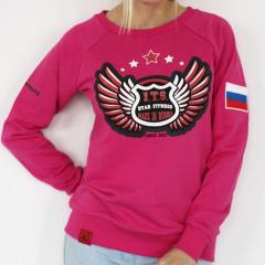 свитшот STAR FITNESS розовый , размер S